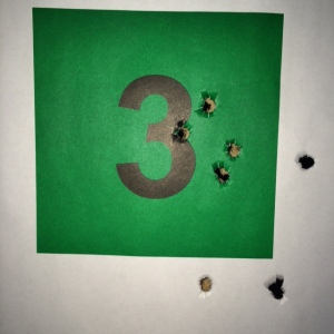 GLOCK 27, Gen4, .40S&W at fourty feet, 8 rounds